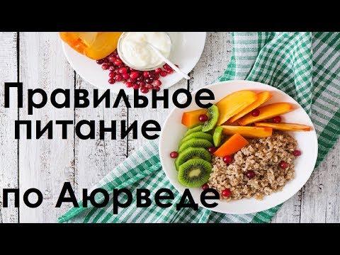 Как правильно кушать чтобы чувствовать себя на отлично. Правильное питание по Аюрведе.