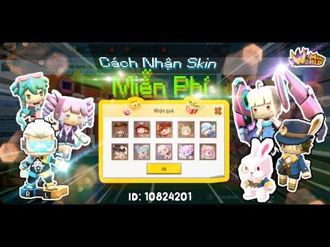[Mini World] Cách Nhận Skin Miễn Phí / How to Get Free Skin Mini World