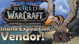 Island Expeditions Currency Vendor Preview - Patch 8.1 | Battle for Azeroth