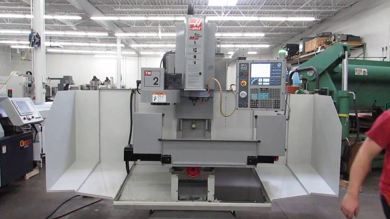 haas tm 2 cnc toolroom mill for sale at www machinesused com youtube rh youtube com haas tm-2 manual Haas TM 2P
