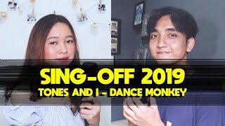 Download lagu SING-OFF 2019 (DANCE MONKEY by Tones And I) vs Indah Aqila