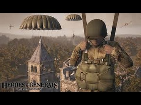 Heroes and Generals FR HD Parachute!!!