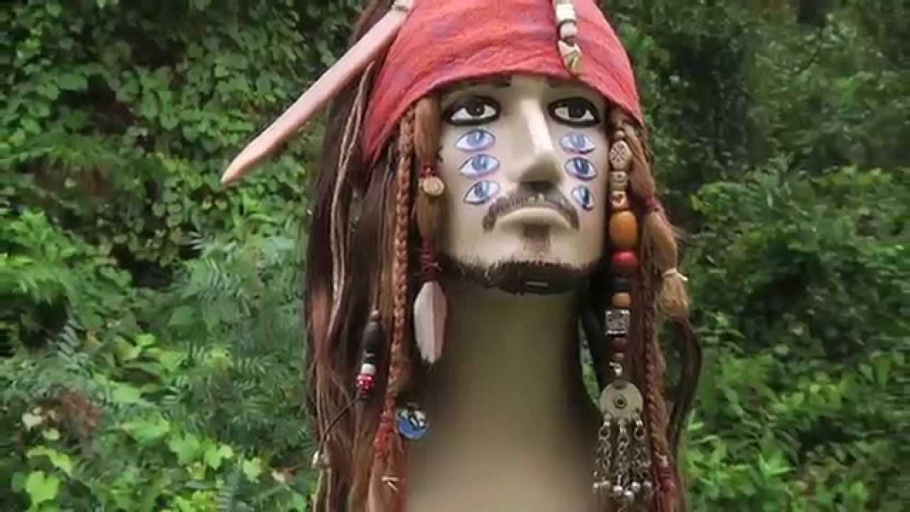 ost jack sparrow wig on stranger tides reelreproductions
