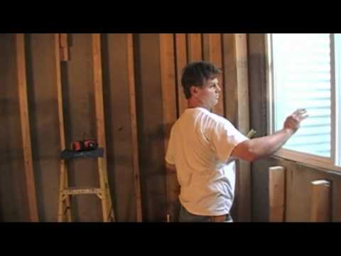 basement finishing video framing basement windows youtube