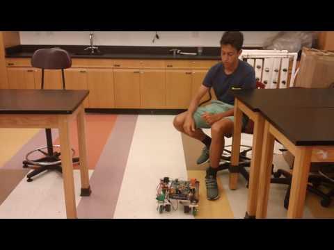 Frederick's First Milestone - Swerve Drive Robot!!