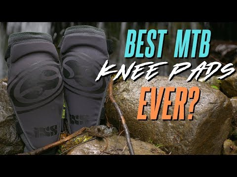 BEST MTB KNEE PADS EVER? // IXS Carve Knee Pads Review