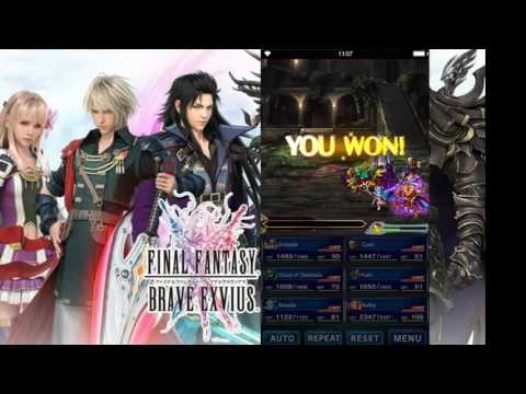 Final Fantasy Brave Exvius Exploration Earth Shrine BEST are