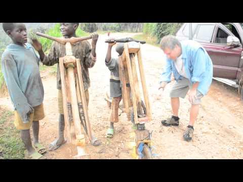 #Bikes made of Wood By Hand By Boys Along Lake Kivu