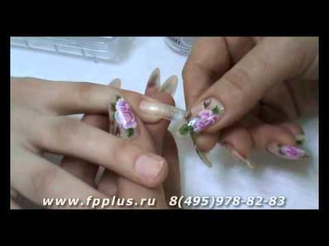Видео Наращивание ногтей модель по