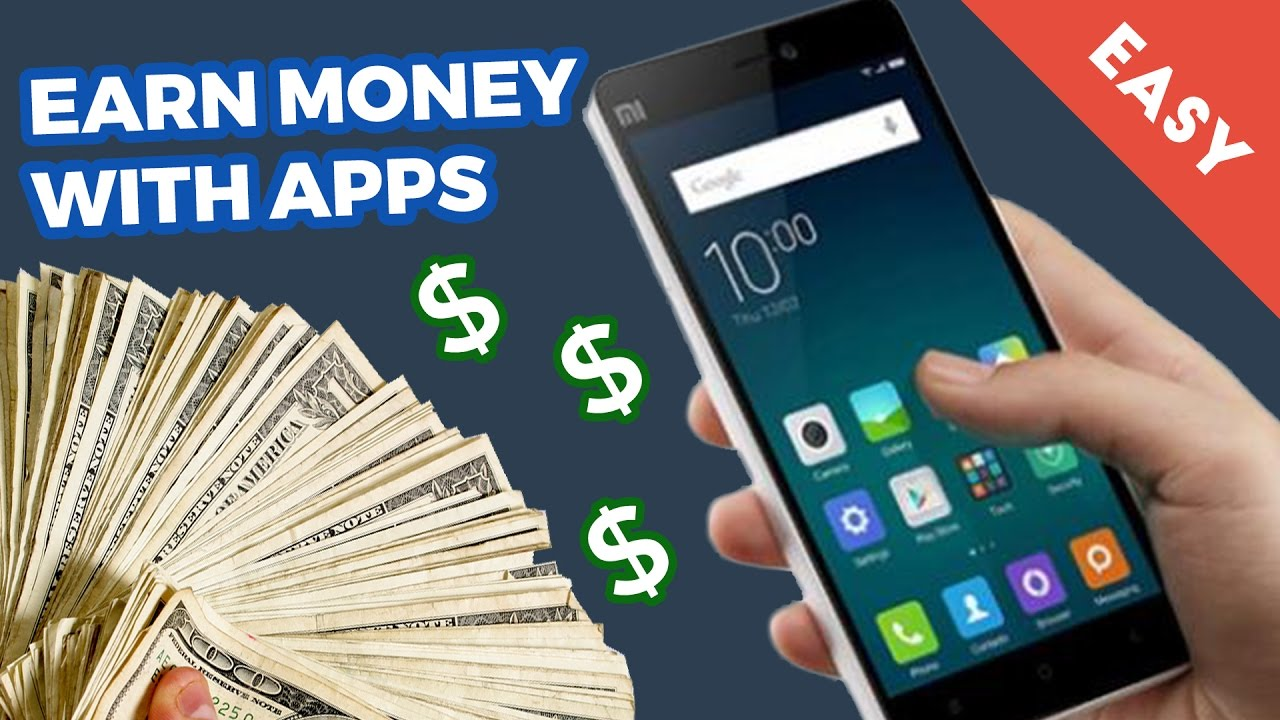 10 FREE APPS TO EARN MONEY [ EASY ]