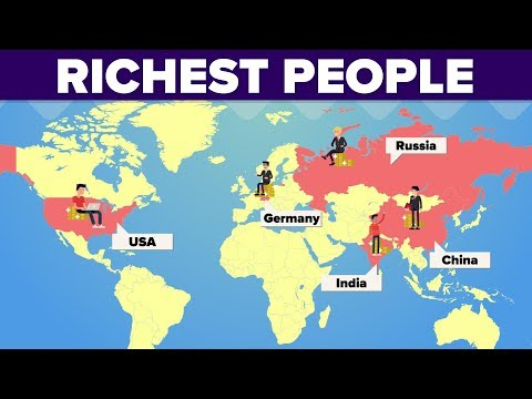 Richest People In Different Countries