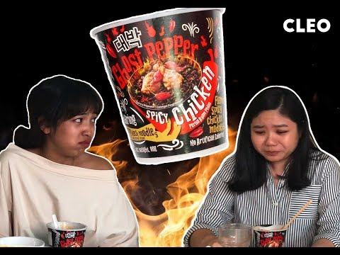 Ghost Pepper Ramen Challenge: Did We Survive?? | CLEO Tries | CLEO Malaysia