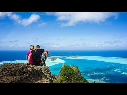 Backpacking in French Polynesia, Maupiti 1080p (2017)