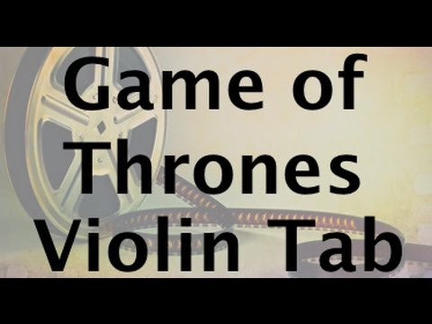 Learn Game of Thrones on Violin  How to Play Tutorial