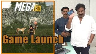 Mega 150 game launch by VV Vinayak and Dil Raju    Megastar Chiranjeevi    Boss In Game