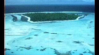 1974- Atoll de Mururoa les alouette3 et  super-frelon en vol