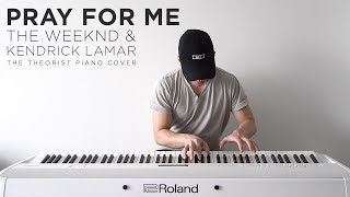 Download lagu The WeekndKendrick Lamar Pray For Me The Theorist Piano Cover MP3
