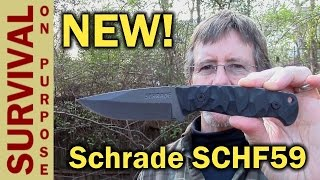 Schrade SCHF59 Full Tang Carbon Steel Knife Review
