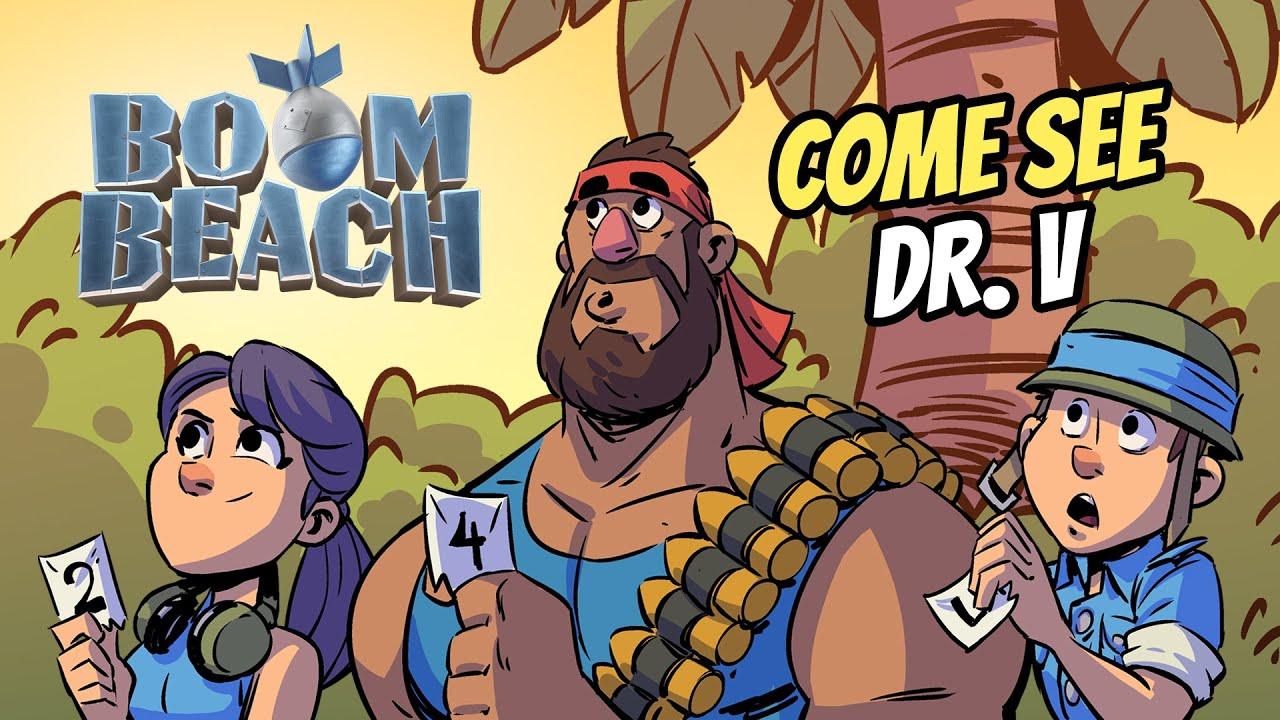 Boom Beach: Come See Dr. V