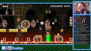 [8] Super Mario Maker (Live Stream vom 23.03.2018)