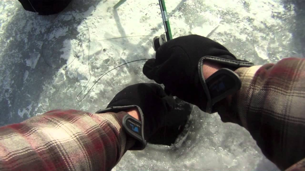 Ice fishing in the great meredith rotary fishing derby for Lake meredith fishing report