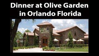 Dinner at Olive Garden in Orlando Florida | JKMCraveTV