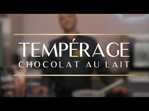 Tempérage Chocolat au Lait - Aiguebelle Professionnel