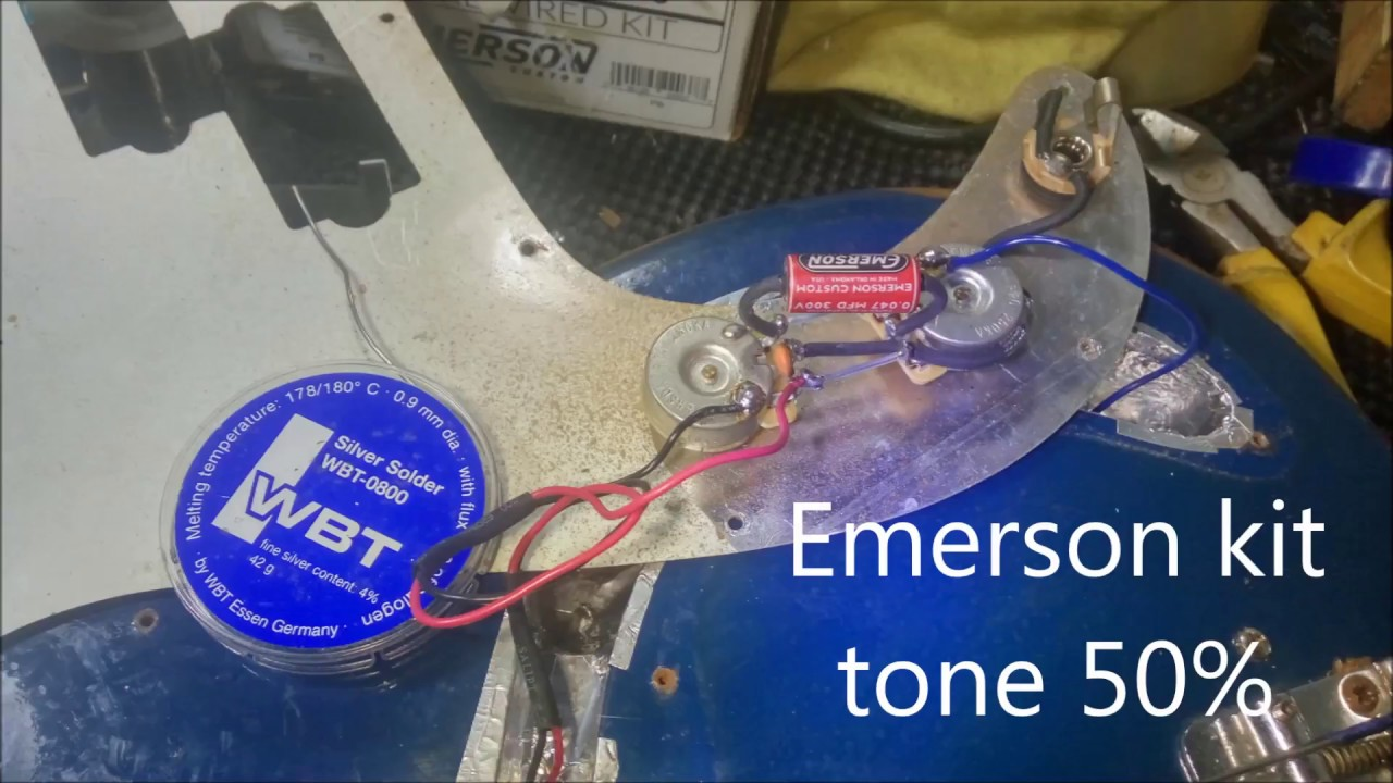 Emerson Wiring Harness Review Electrical Diagrams Columbia Precision Bass Compare Cts Vs Kit Youtube