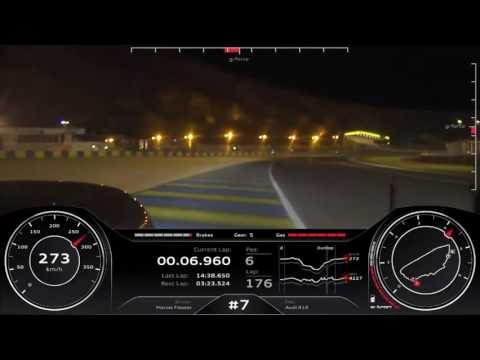 24 Hours of Le Mans 2016 | Audi R18 - Onboard