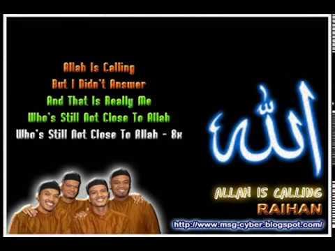 lagu raihan thanks to allah