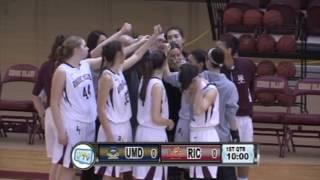 RIC Basketball vs UMD