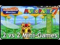 Mario Party 7 - All 2 vs 2 Mini-Games (Multiplayer)