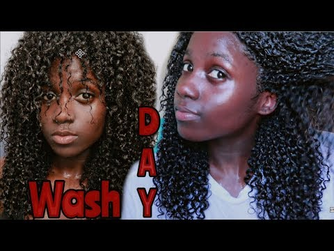 MOISTURIZING WASH DAY ROUTINE FOR LONGER NATURAL HAIR|Start to finish!