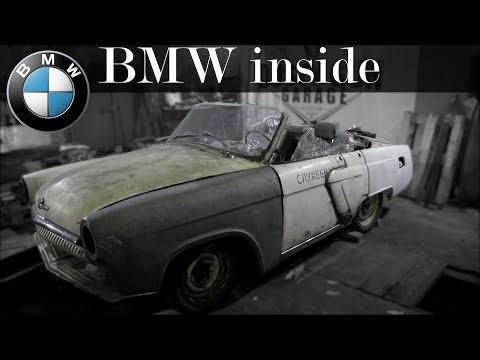 Уникальная ВОЛГА получает мотор BMW