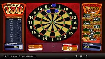 Microgaming - 1x2 Darts - Gameplay demo