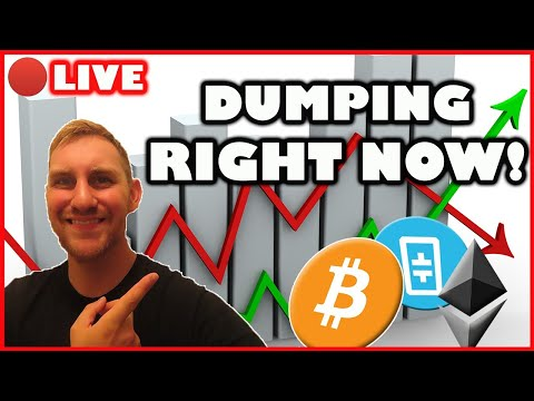 BITCOIN AND ALTCOINS DUMPING RIGHT NOW!