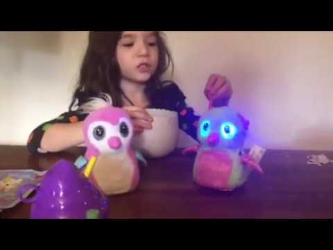 Hatchimal Glittering Garden Burtle ! Full hatching video!