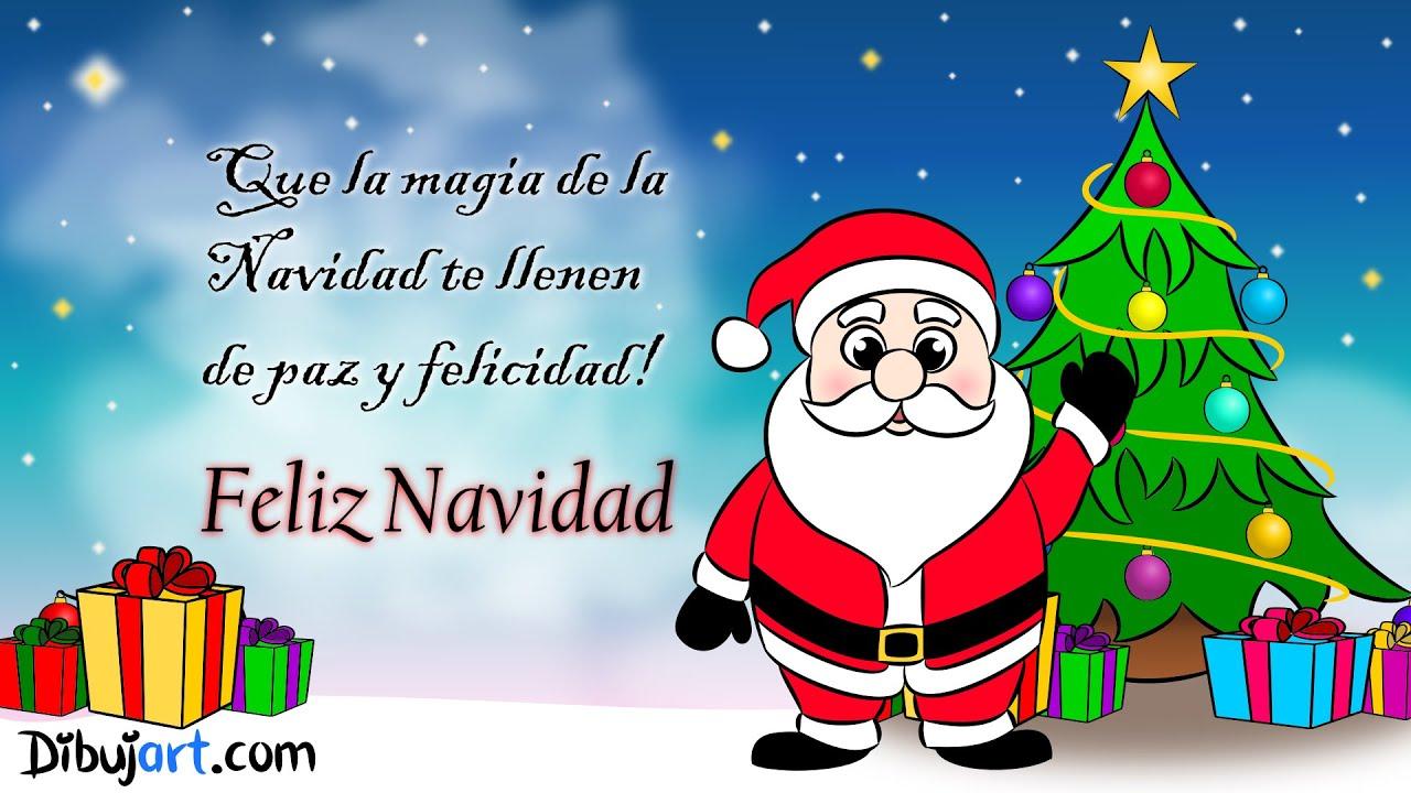 mensaje de feliz navidad