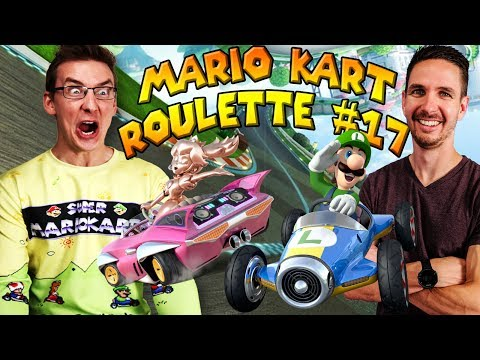 Mario Kart Roulette #17: How Many Times Can Ben Fall Off the Course?