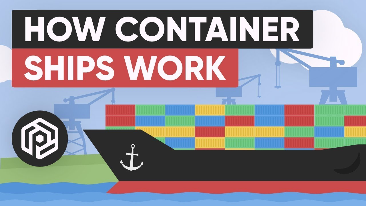 Download How Container Ships Work