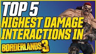 Top 5 Craziest Daṁage Interactions That Still Work in Borderlands 3