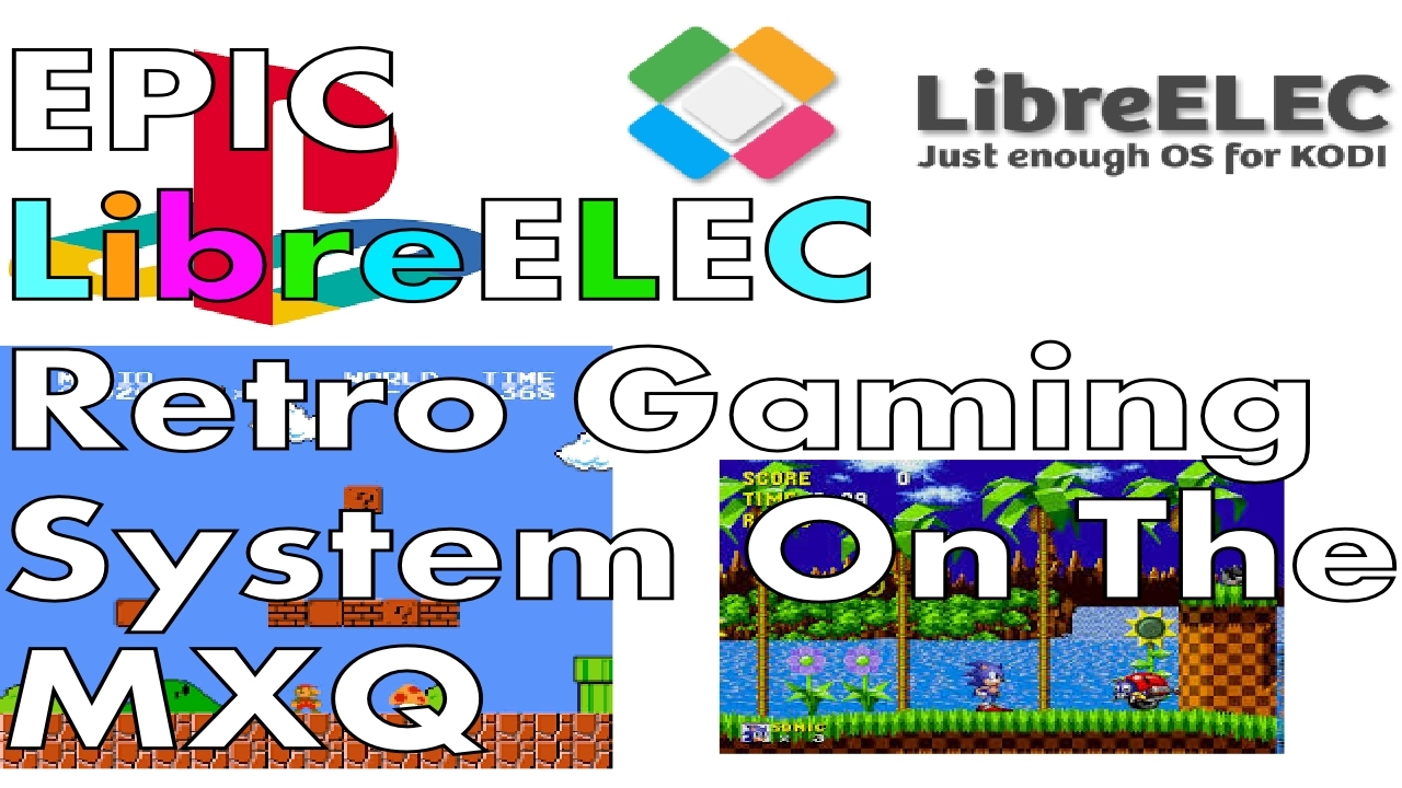 EPIC LIBREELEC S805 S905 MXQ RETRO ARCH GAMING SYSTEM - EASY TO INSTALL -  EASY TO USE