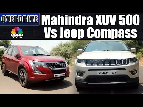 2018 Mahindra XUV 500 Vs Jeep Compass | Comparision Review | OVERDRIVE | CNBC TV18