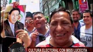 Nota - Cultura Electoral con Miss Lucecita