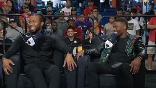 Redskins CB Josh Norman & Broncos WR Emmanuel Sanders Joins The RE Show in Studio - 2/1/17
