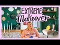 My Green Living room makeover - Extreme DIY livingroom - AD
