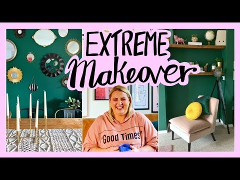 My Green Living room makeover – Extreme DIY livingroom – AD