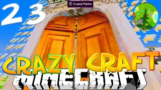 "Minecraft CRAZY CRAFT 3.0 #23 ""AGE OF TRANSFORMIUM"" (Crazy Craft SMP)"