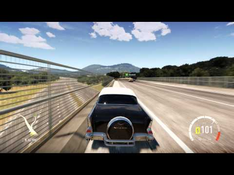 Forza Horizon 2, 1957 CHEVROLET BEL AIR, testing and exploring the map prt. 17