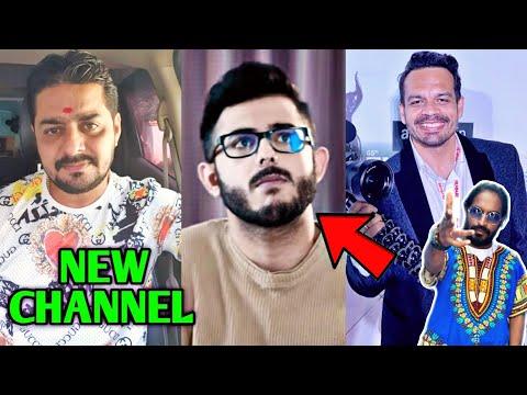 Hindustani Bhau New Channel | CarryMinati PAID Roast?, Flying Beast Filmfare, Emiway Bantai, MrBeast